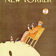 New Yorker August 6th, 1990 Art Print