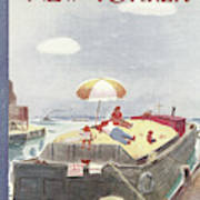 New Yorker August 7th, 1948 Art Print