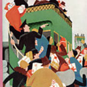 New Yorker December 12th, 1931 Art Print