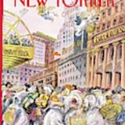 New Yorker December 13th, 1993 Art Print