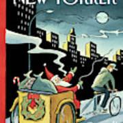 New Yorker December 15, 2008 Art Print