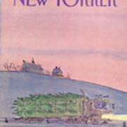 New Yorker December 19th, 1983 Art Print