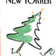 New Yorker December 19th, 1988 Art Print