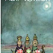 New Yorker December 21st, 1968 Art Print