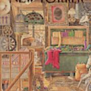 New Yorker December 21st, 1987 Art Print