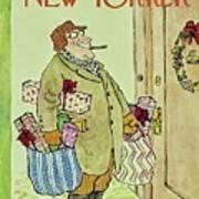 New Yorker December 23rd 1967 Art Print