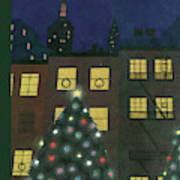 New Yorker December 24th, 1938 Art Print