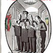 New Yorker December 24th, 1960 Art Print