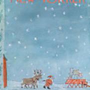 New Yorker December 24th, 1966 Art Print