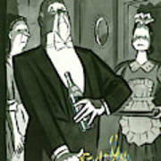 New Yorker December 25th, 1948 Art Print