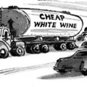New Yorker December 25th, 1978 Art Print by Lee Lorenz