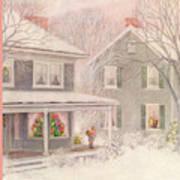 New Yorker December 27th, 1952 Art Print