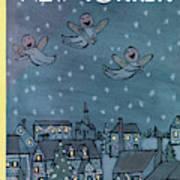 New Yorker December 27th, 1958 Art Print