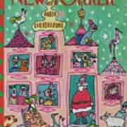 New Yorker December 28th, 1981 Art Print