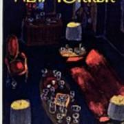 New Yorker December 29th 1962 Art Print
