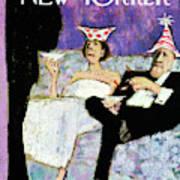 New Yorker December 31st, 1966 Art Print
