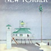 New Yorker December 3rd, 1984 Art Print