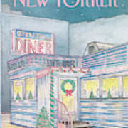 New Yorker December 7th, 1987 Art Print