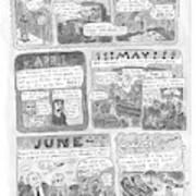 New Yorker December 7th, 1998 Art Print