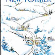New Yorker December 8th, 1986 Art Print
