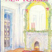 New Yorker December 9th, 1985 Art Print