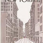 New Yorker February 10th, 1986 Art Print
