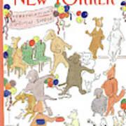 New Yorker February 11th, 1991 Art Print
