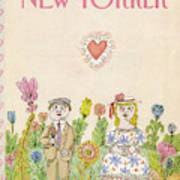New Yorker February 13th, 1984 Art Print