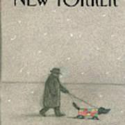 New Yorker February 16th, 1987 Art Print