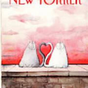 New Yorker February 18th, 1991 Art Print