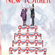 New Yorker February 19th, 1990 Art Print
