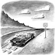 New Yorker February 23rd, 1998 Art Print