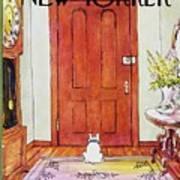 New Yorker February 4th 1974 Art Print