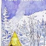 New Yorker February 6th 1978 Art Print