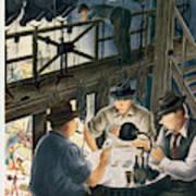 New Yorker February 7th, 1948 Art Print