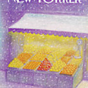 New Yorker January 12th, 1981 Art Print