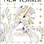 New Yorker January 12th, 1998 Art Print