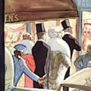 New Yorker January 14th, 1933 Art Print