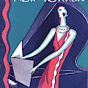 New Yorker January 16th, 1926 Art Print