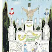New Yorker January 17th, 1959 Art Print