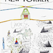 New Yorker January 19th, 1981 Art Print