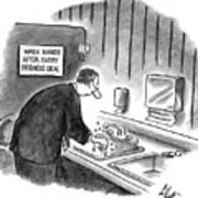 New Yorker January 19th, 1998 Art Print