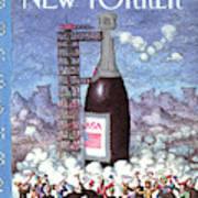 New Yorker January 1st, 1990 Art Print
