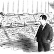 New Yorker January 25th, 1993 Art Print