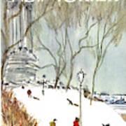 New Yorker January 27th, 1968 Art Print