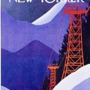 New Yorker January 27th 1975 Art Print