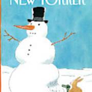 New Yorker January 27th, 1992 Art Print