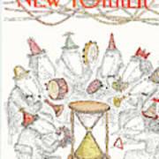 New Yorker January 4th, 1982 Art Print