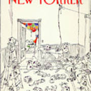 New Yorker January 5th, 1981 Art Print