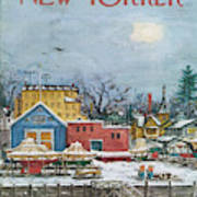 New Yorker January 6th, 1973 Art Print